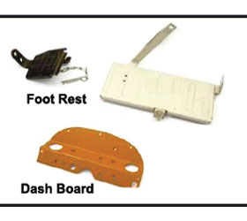 Foot Rest Dash Board