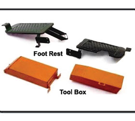 Foot Rest Tool Box